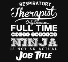 Ninja Respiratory Therapist T-shirt by musthavetshirts