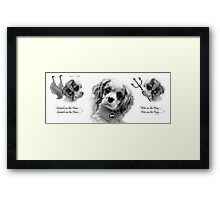 The Battle Within! Framed Print
