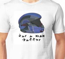 Halo 5 Spartan shirt with covenant writing  Unisex T-Shirt