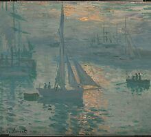 Sunrise (Marine) - Claude Monet by BravuraMedia