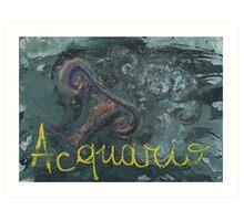acquario Art Print