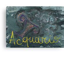 acquario Canvas Print