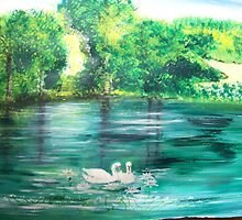 Lake view by Susie J