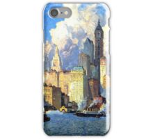 Hudson River Waterfront - Colin Campbell Cooper iPhone Case/Skin