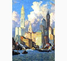 Hudson River Waterfront - Colin Campbell Cooper T-Shirt