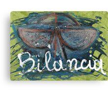bilancia Canvas Print