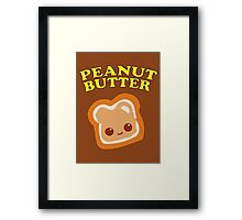 Couple - Peanut Butter (& Jelly) Framed Print
