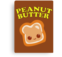 Couple - Peanut Butter (& Jelly) Canvas Print