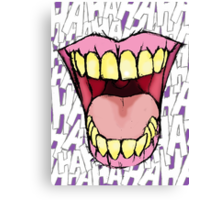 A Killer Joke #3 Canvas Print