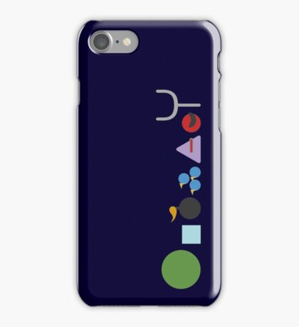 The Space Warriors iPhone Case/Skin