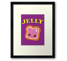 Couple - (Peanut Butter &) Jelly Framed Print