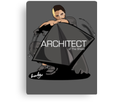The Architect of the Shield Canvas Print