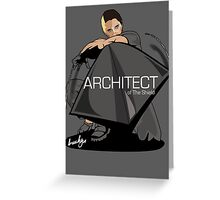 The Architect of the Shield Greeting Card