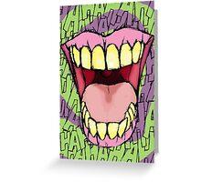 A Killer Joke - spiral Greeting Card