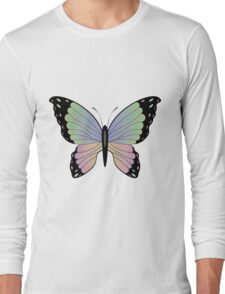 Cartoon Butterfly 2 Long Sleeve T-Shirt