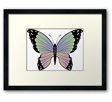 Cartoon Butterfly 2 Framed Print