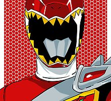 Dino Charge - Red Ranger by averagejoeart