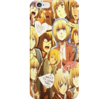 Armin Arlert iPhone Case/Skin