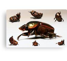 Breakdancing Beetle Canvas Print