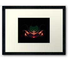Insect fractal composition Framed Print
