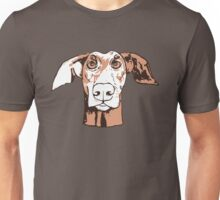Quirky doberman Unisex T-Shirt