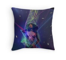 Space Time 125 Throw Pillow