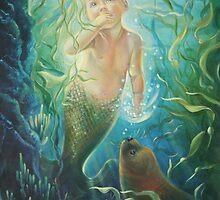 """""""The Mermaid Baby"""" by Kathy Ostman-Magnusen"""