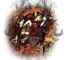 Kuroshitsuji (Black Butler) - Ciel Phantomhive & Sebastian Michaelis² by IzayaUke