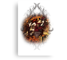 Kuroshitsuji (Black Butler) - Ciel Phantomhive & Sebastian Michaelis² Canvas Print
