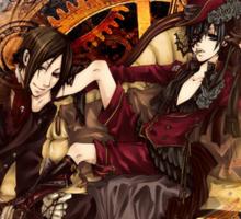 Kuroshitsuji (Black Butler) - Ciel Phantomhive & Sebastian Michaelis² Sticker