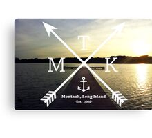 MTK with Cross Arrows  Canvas Print