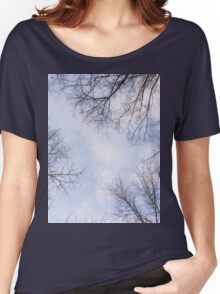 Trees in winter park 3 Women's Relaxed Fit T-Shirt