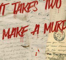 Murder Board Sticker