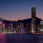 Hong Kong Skyline by fernblacker