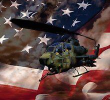 Proud To Be An American  by kelleybear