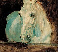 The White Horse Gazelle - Henri Toulouse-Lautrec by BravuraMedia