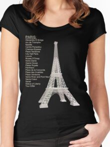 Paris Women's Fitted Scoop T-Shirt