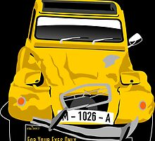 Citroën 2CV from For Your EyesOnly by car2oonz