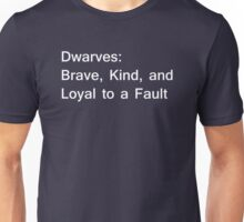 Definition of Dwarves - White Unisex T-Shirt