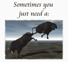 Sometimes You Just Need A...  by Lisa  Weber
