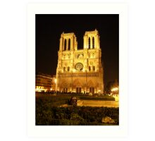 Cathedral by Night III Art Print