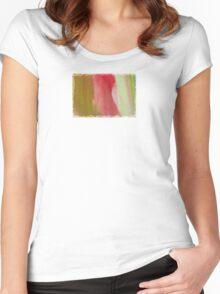 Unfolded  - JUSTART ©  Women's Fitted Scoop T-Shirt