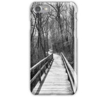 Wooded Boardwalk iPhone Case/Skin
