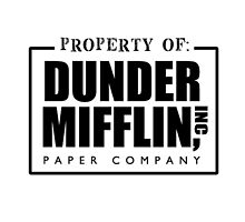 Dunder Mifflin by 0thatsHawkward