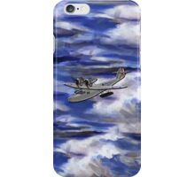 A Saro Cloud A29 of the Royal Air Force iPhone Case/Skin