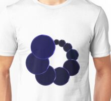 Blue Bubbly Unisex T-Shirt
