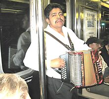 Mariachi Subway Style II by Ms.Bliss Productions