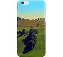 Autumn fields panorama | landscape photography iPhone Case/Skin