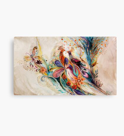 The Splash Of Life. Composition 1 Canvas Print