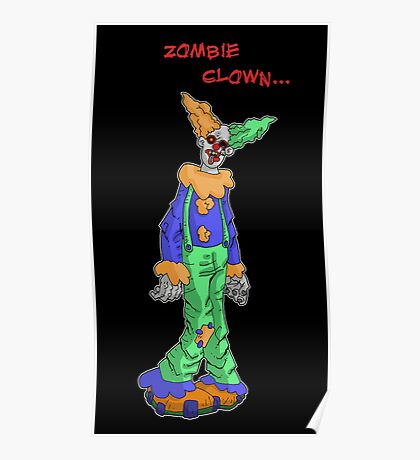 zombie clown... Poster